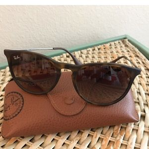 Ray-Ban sunglasses with case